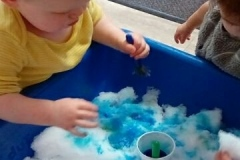 toddler-snow-paint